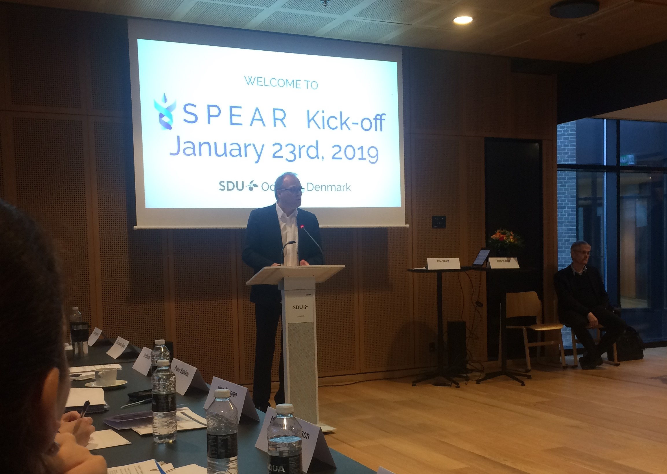 Reflections on the Kick-off meeting of the SPEAR project. Part 1